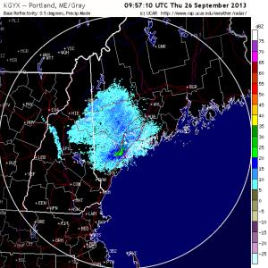 6am radar, 9-26-13