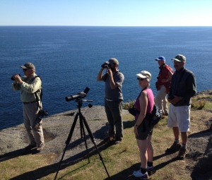 me_with_group_Monhegan,9-28-13,K.Lindquist