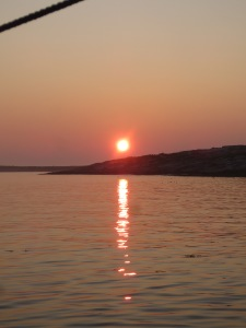 Seal Island Sunrise,8-5-14