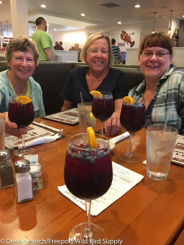 2. blueberry sangria