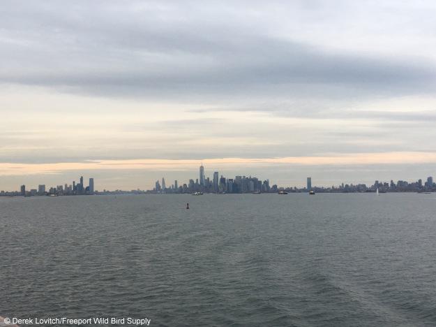 departing NYC